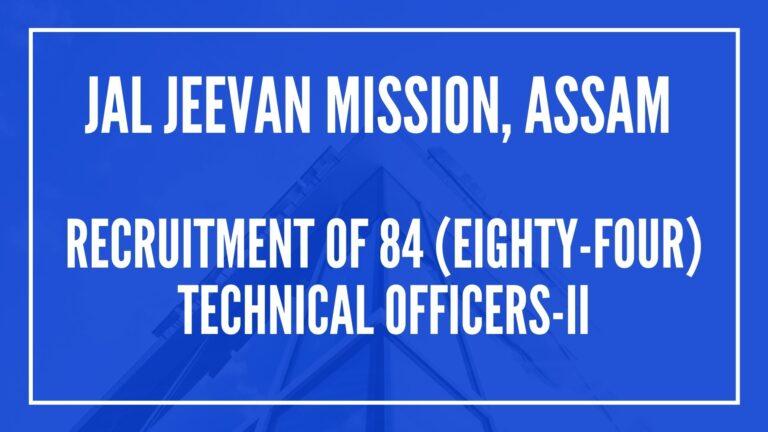 Jal Jeevan Mission Assam